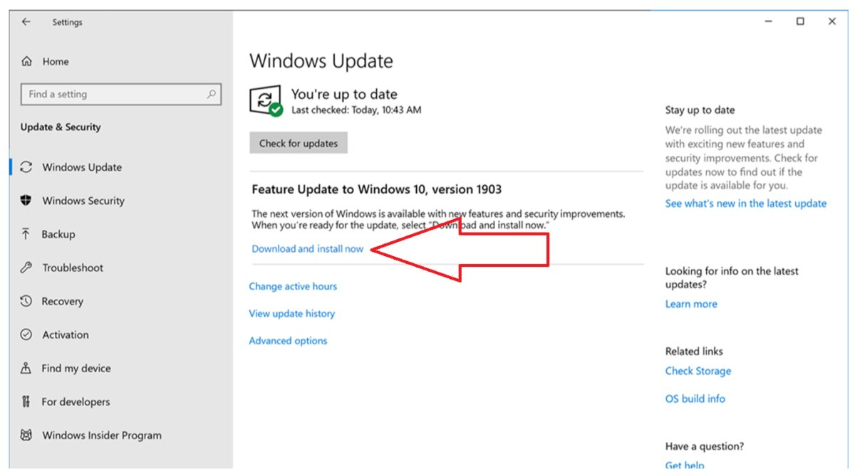how to update windows